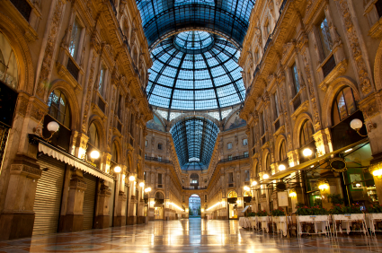 Milan Luxuous shopping mall