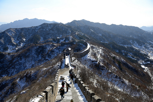 wonder of China Wall